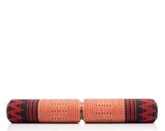 "36"" Long Lanna Roller Massage Foam Roller | 3-Piece ""Classic Long Set"" with Naga Cover | 36"" L x 5"" diameter"