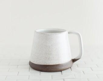 Nocturne Mug - large coffee mug for manly men, handmade mug in NYC
