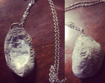 Handmade real rock/crystal necklace