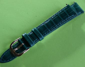 The brand Marcco 16 mm genuine leather watchband