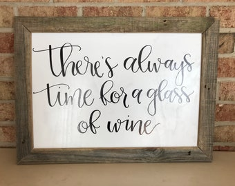 Always Time for Wine