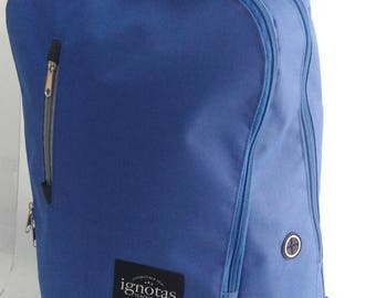 Ignotas Apparel Mini Backpack- Blue