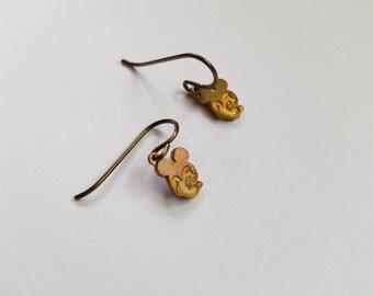 Vintage Mickey Mouse Earrings
