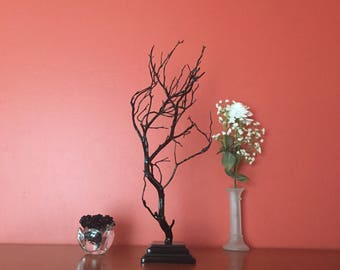 Manzanita tree centerpieces, Wedding decor, Manzanita branch,Manzanita, Manzanita tree, Manzanita branches, Black Manzanita tree,