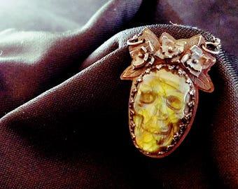 jewelry, Dia De Los Muertos, sugar skull