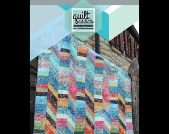 Hillside Quilt Pattern by Quilt Addicts Anonymous - Paper Printed Pattern