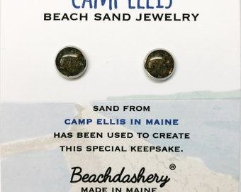 Camp Ellis Sand Jewelry, Camp Ellis Maine Sand Jewelry, Beach Sand Jewelry, Sand Jewelry, Summer, One of a Kind Gift, Made in Maine