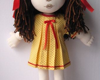 Handmade cloth doll 19 inches