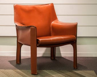 Cassina CAB 414 Armchair (Russian Red)