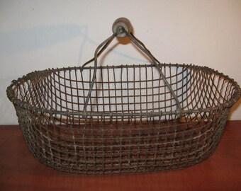 C. 1925 ... Vintage french metal potato basket ...