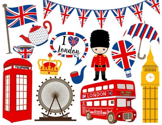 instant download london digital clip art british clipart england rh etsystudio com england clipart black and white clipart england