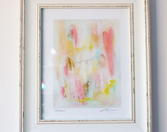 Blended Abstract Art Print