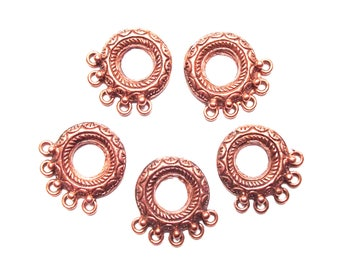 5 round copper connector 5 hole 22mm