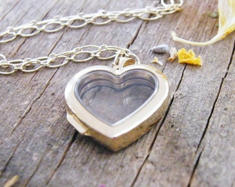 14k gold floating glass locket heart locket a exclusive to pure rox jewels design 14k gold