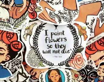 Little Frida Sticker Set