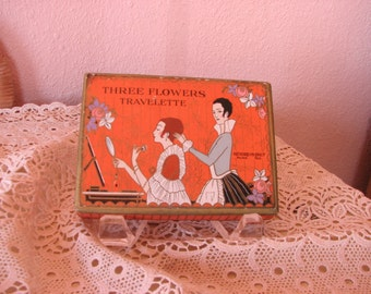 Three Flowers Travelette Case by Richard Hudnut