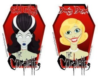 Corpsette Stickers