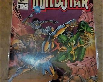 Wildstar #2//image comics//1993//very fine condition//comics//vintage comics
