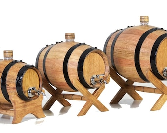 New 1.5L, 2L or 4L whisky whiskey bourbon barrels