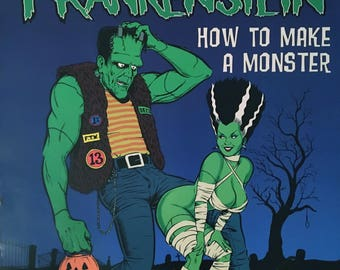 EF How To Make A Monster art by Coop