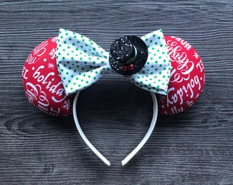 Seasons Greetings, Holiday Ears, Disney Ears