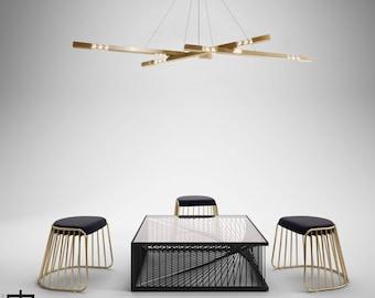 modern designer lighting. Modern Chandelier | Brass Pendant Lamp Designer Lighting Minimalist /