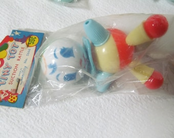 Baby rattles 1940s Vintage Baby Rattles NOS Baby Toys Baby Cake Toppers Shower Gift Idea Gift for Baby Rattle Newborn Baby Toys