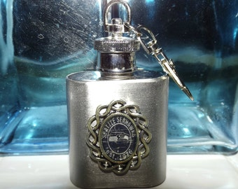 Seattle Seahawks Inspired Flask