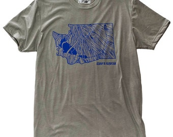 Washington Rise Fly Fishing T Shirt
