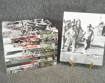 Set Of 13 Time Life Books Hardcover World War II C. 1983