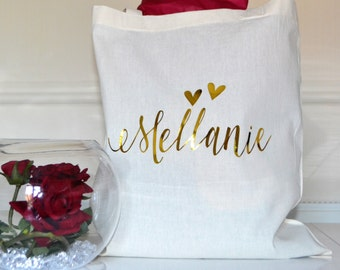 Bridesmaid gift ideas, Personalised tote bags, Personalised bridesmaid gift, Will you be my bridesmaid, thank you gift, wedding favors tote