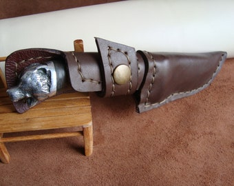 Hand made  Skinning knife Butcher hunting fishing knife Camping knifeSurvival  knife Hiking knife Forged knife Strong knife