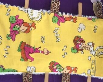 Flinstones sensory play blanket
