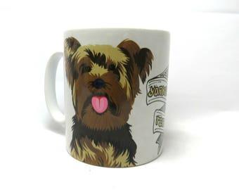 Yorkshire Terrier Mug, Yorkie Dog, Yorkshire Terrier Gifts.