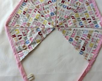 Pink sock bunting