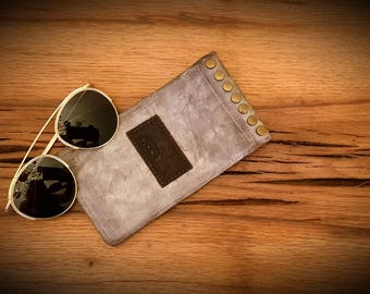 Leather Sleeve Case, Leather Case, Case for Glasses, Sunglasses Case, Eyeglass Case, Glasses Pouch, Gift Leather Case, Pouch Glasses Case