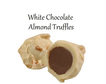 Truffles, White Chocolate Almond Truffle