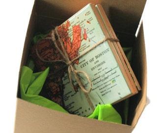 Boîte cadeau pour tuile sous-verres