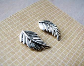 Nightingale- Feather Studs- Bright