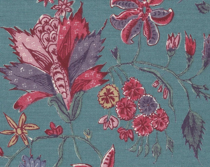 Dutch Chintz - Fleur d'Inde Antique Blue