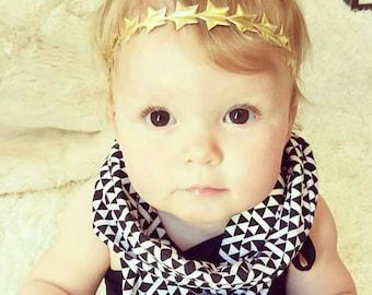 Twinkle Twinkle Little Star First Birthday Headband, Baby Headband, Gold Star Headband, Twinkle Twinkle Little Star, Girls Headband