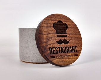 Corporate Gift Ideas / Customized Corporate Gifts / Personalized Corporate Gift / Personalized Gift for Chef / Custom Laser Engraved Logos