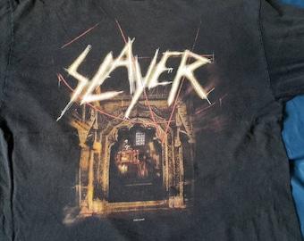 Rare 2000s Slayer  music Tout T shirt
