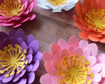 Cactus Flowers - Paper Flowers - Table Centerpiece - Home Decor - Artificial Plants - Desert Flowers - Flower Backdrop - Table Scatter