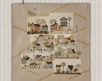 QUILT BOOK - Mystery Quilt - Design by Yoko Saito - QUILTmania Editions