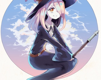 Little Witch Academia - Sucy Manbavaran print