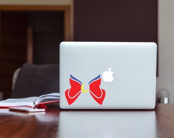 Sailor Moon Inspired Bow Decal