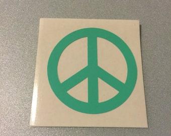 Iron on Vinyl Peace Sign