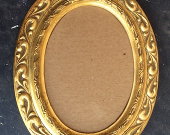 Vintage wood frame  gold finish picture frame mirror frame home decor