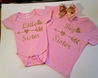Big Sister - Little Sister Shirts -  Custom T-shirts